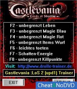 трейнер скачать Castlevania Lords Of Shadow 2 - фото 11