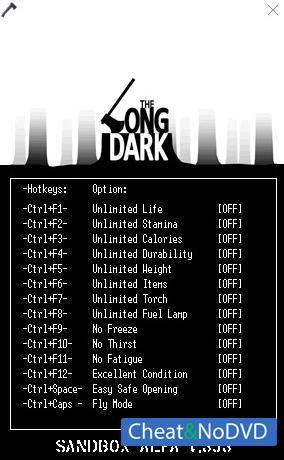 скачать читы на The Long Dark - фото 7