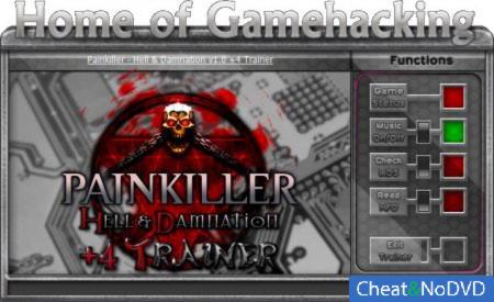 Painkiller: Hell and Damnation трейнер +4 v1.0 {HoG/sILeNt heLLsCrEAm}