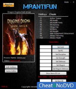 Dragons Dogma: Dark Arisen трейнер Trainer +17 v1.0 {MrAntiFun}