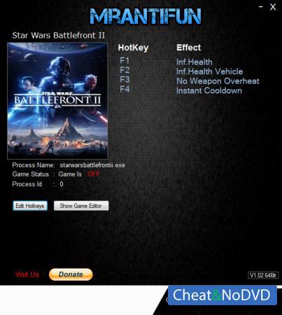 Star Wars: Battlefront 2 2017 трейнер Trainer +4 v28.10.2018 {MrAntiFun}