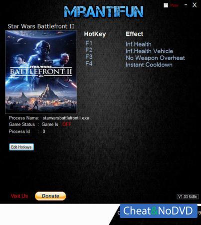 Star Wars: Battlefront 2 2017 трейнер Trainer +4 v01.04.2019 {MrAntiFun}